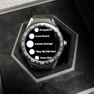 タグホイヤー(TAG Heuer)の値下げ‼️美品タグ ホイヤー コネクテッド モジュラー スマートウォッチ(腕時計(デジタル))