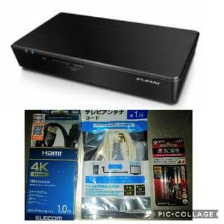 新品★船井 フナイ FUNAI 4Kチューナー HDMI 5C接栓 セット(その他)