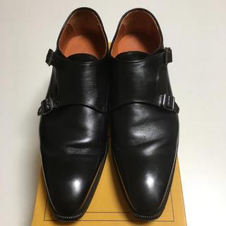 ロブス(LOBBS)のほぼ新品 LOBB'S☆ロブス☆26.5センチ 革靴 ダブルモンク 着用一回43(ドレス/ビジネス)