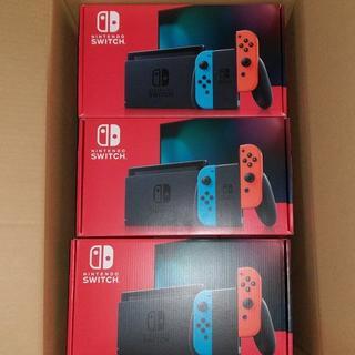 ニンテンドースイッチ(Nintendo Switch)の新型 Nintendo Switch ニンテンドースイッチ ネオン9台内2台印有(家庭用ゲーム機本体)