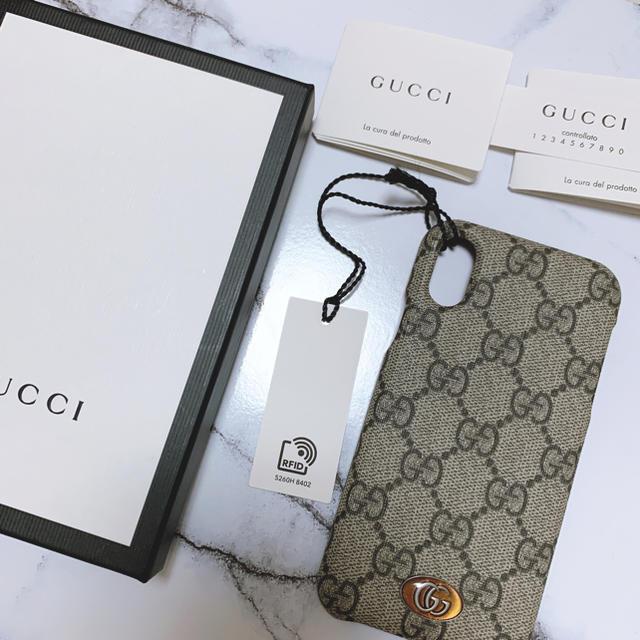 Gucci - GUCCI  iPhoneX/X S ケースの通販
