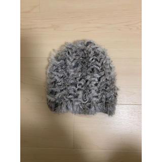 マウジー(moussy)の☆moussyラビットファー帽子☆(その他)