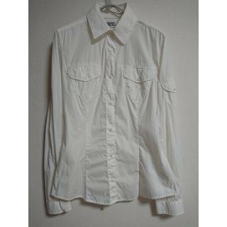 ディーゼル(DIESEL)のDIESEL ホワイトシャツ(シャツ/ブラウス(長袖/七分))
