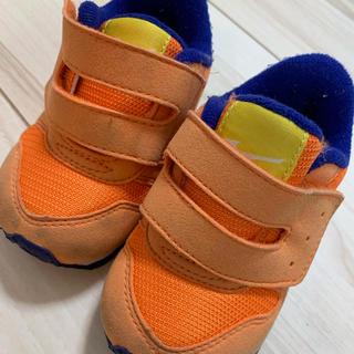 ミズノ(MIZUNO)のMIZUNO ミズノ  子供靴 オレンジ 12.5cm(スニーカー)