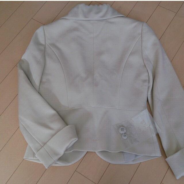 QUEENS COURT(クイーンズコート)のお値下げ**美品**ベージュジャケット レディースのジャケット/アウター(テーラードジャケット)の商品写真