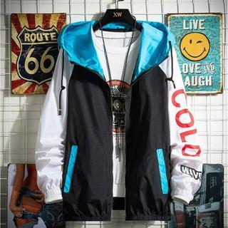 ジャケット ナイロンジャケット ウィンドブレーカー XL 男女兼用 新品未開封(ナイロンジャケット)