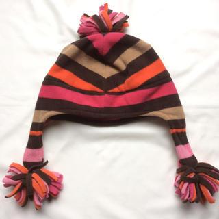 ギャップキッズ(GAP Kids)のGAPフリース帽子☆54~56cm★お耳まで暖かい♪(帽子)