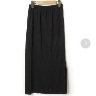 プラージュ(Plage)のCO/PEテレコロングスカート*ブラック*Plage(ロングスカート)