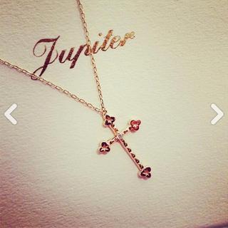 ジュピターゴールドレーベル(jupiter GOLD LABEL)のクロスネックレス(ネックレス)