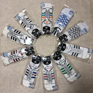 アディダス(adidas)の個包装 adidas スニーカー ソックス 10足組 ホワイト系(ソックス)