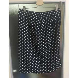 ハニーズ(HONEYS)の水玉 ドット タイトスカート(ひざ丈スカート)