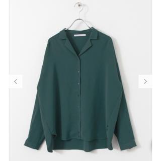 ケービーエフ(KBF)のKBF アーバンリサーチ オープンカラー 2wayシャツ(シャツ/ブラウス(長袖/七分))