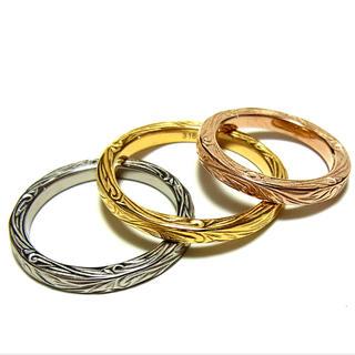 超安ハワイアンジュエリー リング 3カラー ユニセックス(リング(指輪))