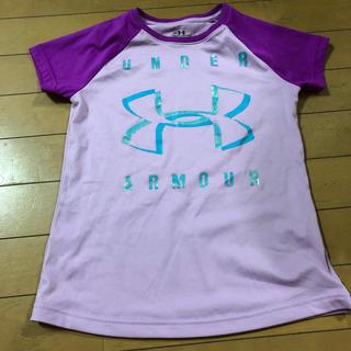 アンダーアーマー(UNDER ARMOUR)のアンダーアーマー YSM キッズ 女の子 Tシャツ 半袖(Tシャツ/カットソー)