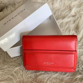 ジバンシィ(GIVENCHY)の✳︎ ジバンシー レッド お財布✳︎(財布)