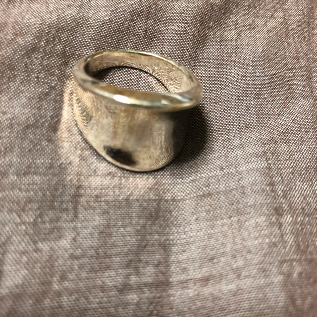 シルバー リング 太リング レディースのアクセサリー(リング(指輪))の商品写真