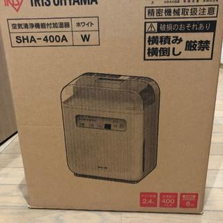 アイリスオーヤマ(アイリスオーヤマ)の新品 アイリスオーヤマ空気清浄機能付加湿器 PM2.5ハウスダスト除去タイマー付(その他)