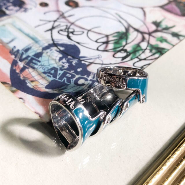 Vivienne Westwood(ヴィヴィアンウエストウッド)の新品 アルテミス アーマーリング  レディースのアクセサリー(リング(指輪))の商品写真