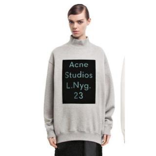 アクネ(ACNE)の正規 ACNE STUDIOS スウェット ロゴ 14aw パーカー Tシャツ(スウェット)