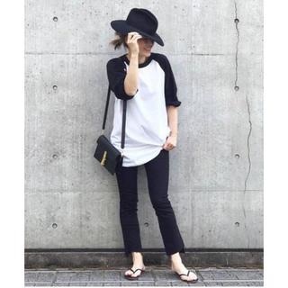 ドゥーズィエムクラス(DEUXIEME CLASSE)のCHAMPION ラグランBIG Tシャツ(Tシャツ/カットソー(七分/長袖))