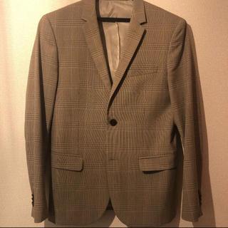 エイチアンドエム(H&M)のH&M ブラウングレンチェックセットアップスーツ(セットアップ)