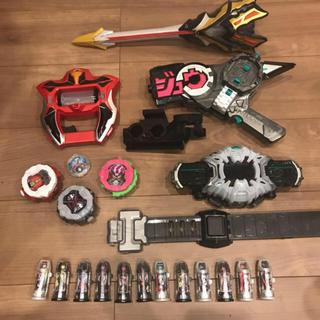 仮面ライダージオウ、ウルトラマンジード子供用おもちゃまとめ売り(特撮)