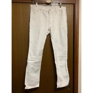 GU - メンズ ホワイト パンツ