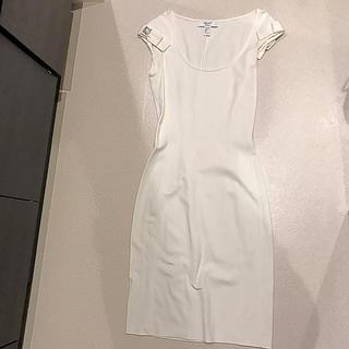 ブルーガール(Blugirl)のblugirl ワンピース ドレス ホワイト(ひざ丈ワンピース)
