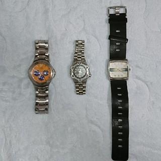 フォッシル(FOSSIL)の腕時計3点セット(ジャンク品)(腕時計(アナログ))