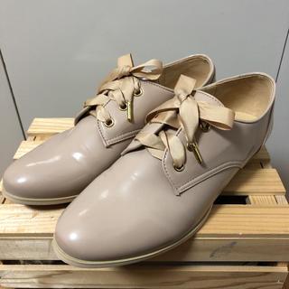 インデックス(INDEX)のINDEX レースアップシューズ 24.5㎝(ローファー/革靴)