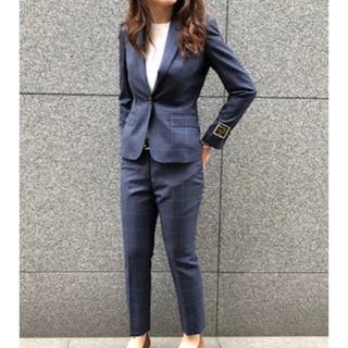 スーツカンパニー(THE SUIT COMPANY)のOnly suit スーツ上下 トラベラーシリーズ ウィンドウ ペン (スーツ)