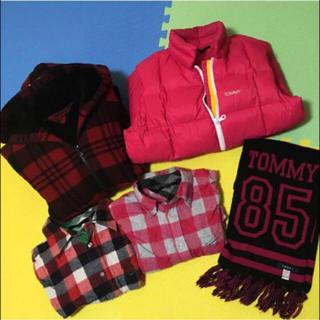 トミー(TOMMY)のTOMMY トミー ダウン ジャケット マフラー(ダウンジャケット)