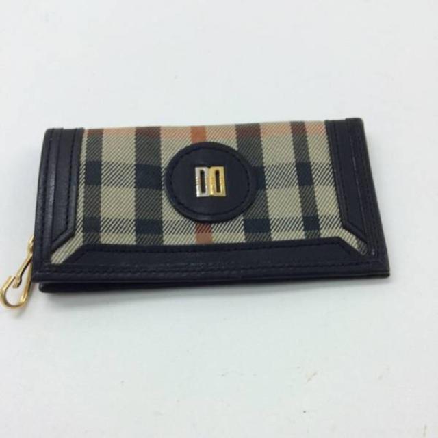 DAKS(ダックス)のダックス キーケース チェック ブラック メンズのファッション小物(キーケース)の商品写真