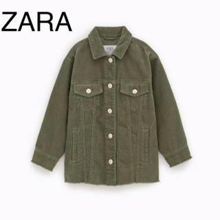 ザラキッズ(ZARA KIDS)の専用*ZARA コーデュロイジャケット キッズサイズ(その他)