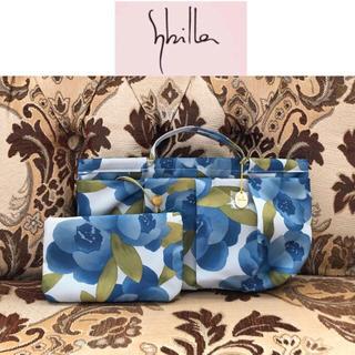シビラ(Sybilla)の未使用 Sybilla シビラ バッグインバッグ&ポーチ ブルー(トートバッグ)