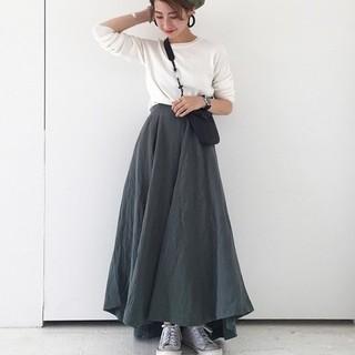 トゥデイフル(TODAYFUL)のパネルボリュームスカート(ロングスカート)
