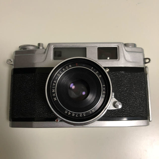 マミヤ(USTMamiya)のMAMIYA マミヤ フィルムカメラ オールドレンズ(フィルムカメラ)
