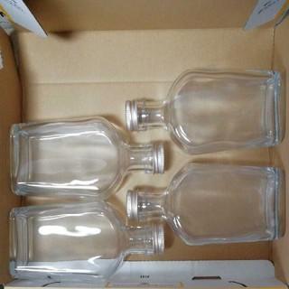 ハーバリウム瓶、ウィスキー瓶200ml 4本セット(その他)