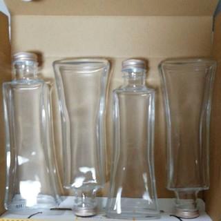 ハーバリウム瓶、ボード瓶200ml 4本セット(その他)
