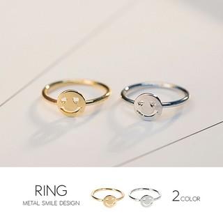 指輪 リング14号 ゴールド シルバー にこちゃん(リング(指輪))