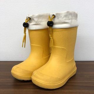 ムジルシリョウヒン(MUJI (無印良品))の無印良品|レインシューズ 14~15cm・イエロー(長靴/レインシューズ)
