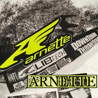 アーネット(Arnette)のarnetteアーネットUS限定snow型抜ウイングアイコンロゴステッカー1点物(その他)