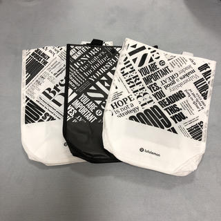 ルルレモン(lululemon)のlululemon ショップバッグ 3枚セット(ショップ袋)