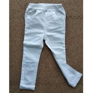 プティマイン(petit main)の白パンツ 100サイズ  petit main(パンツ/スパッツ)