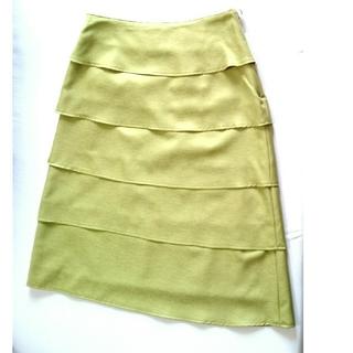 バーニーズニューヨーク(BARNEYS NEW YORK)のティアード スカート  BARNEYS NEW YORK 新品(ひざ丈スカート)