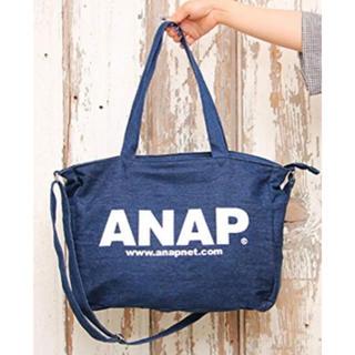 アナップ(ANAP)のANAP デニムロゴ マザーズバッグ(マザーズバッグ)