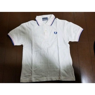 フレッドペリー(FRED PERRY)のフレッドペリー/FRED PERRY  ポロシャツ 白 10(ポロシャツ)