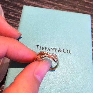 ティファニー(Tiffany & Co.)の本日限定価格!本物 K18 YGティファニー ダイヤモンド インフィニティリング(リング(指輪))