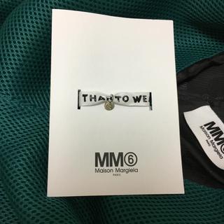 エムエムシックス(MM6)の MM6 Maison margiela ノベルティー ミサンガ(ブレスレット/バングル)