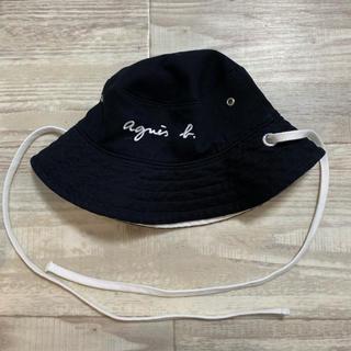 アニエスベー(agnes b.)のアニエスベー  キッズ 6m〜 リバーシブル ハット(帽子)